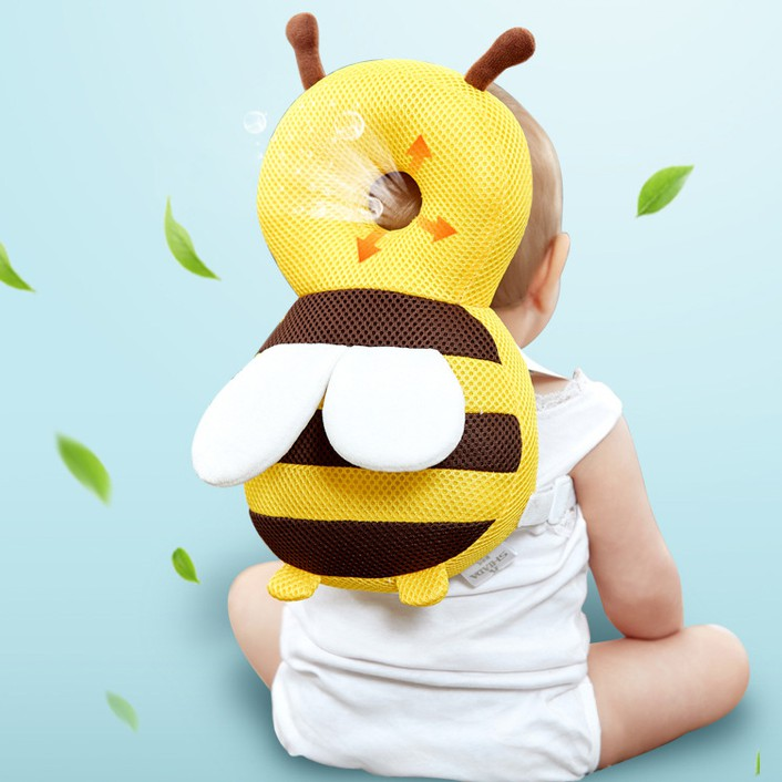 Balo chống ngã cho em bé Baby Care Bảo vệ an toàn cho đầu non nớt của bé