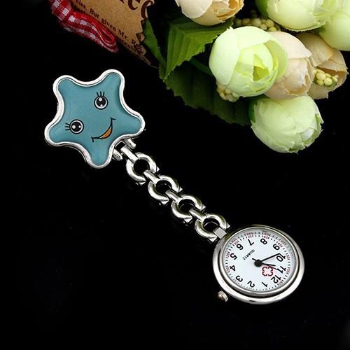 Đồng hồ bỏ túi hình ngôi sao dễ thương cho y tá