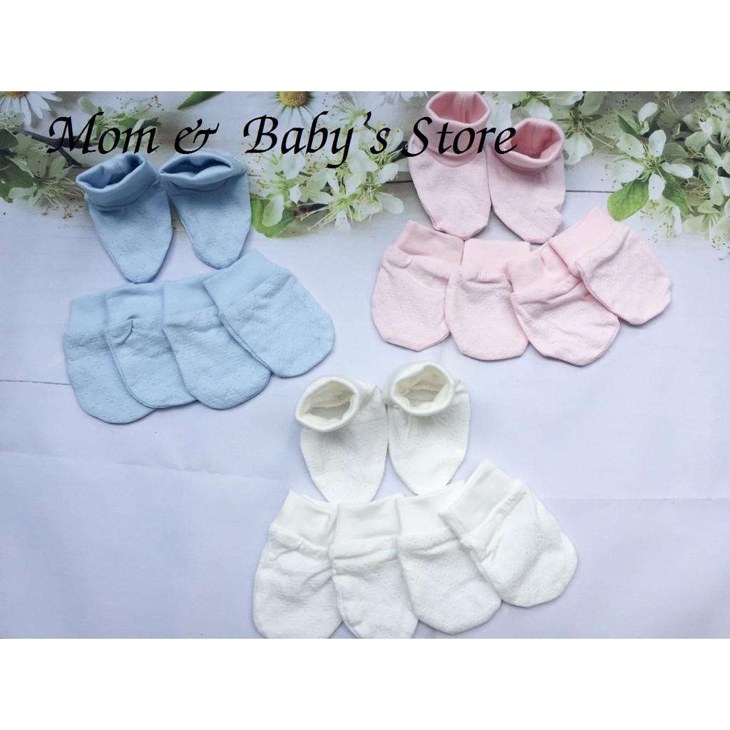 Bộ bao tay-bao chân có cổ sơ sinh Lullaby - 3288671 , 861791761 , 322_861791761 , 44000 , Bo-bao-tay-bao-chan-co-co-so-sinh-Lullaby-322_861791761 , shopee.vn , Bộ bao tay-bao chân có cổ sơ sinh Lullaby