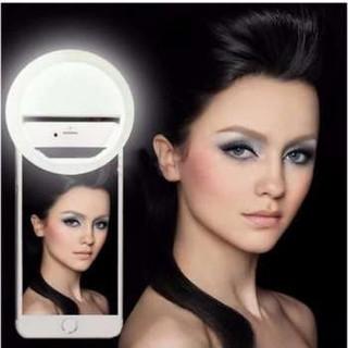Đèn LED selfie trợ sáng pro chụp hình tự sướng ring light SLED-RK12 pin sạc thumbnail