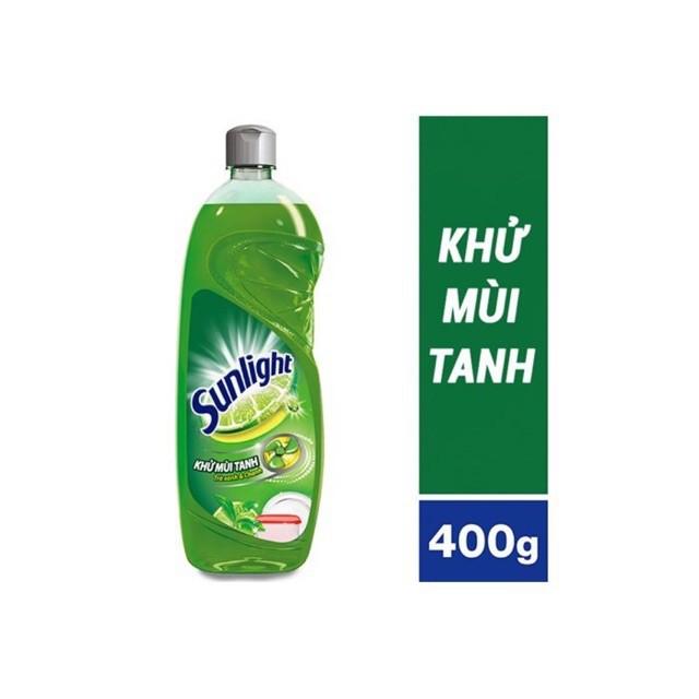 Nước rửa chén Sunlight hương trà 400 g