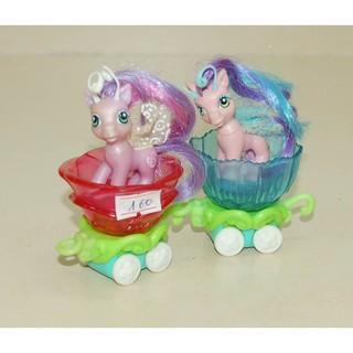 ĐỒ CHƠI LITTLE PONY: Bộ xe 2 Pony cánh (HASBRO-Mỹ)