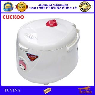 Nồi Cơm Điện Cuckoo CR-1021 1.8 Lít 1.8L - Hàng Chính Hãng (Bảo Hành Toàn Quốc 2 Năm)