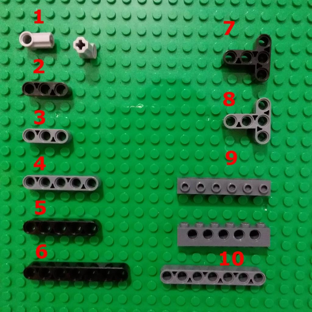 COMBO 5 Phụ Kiện Technic NO.403 - Phụ Kiện Lego