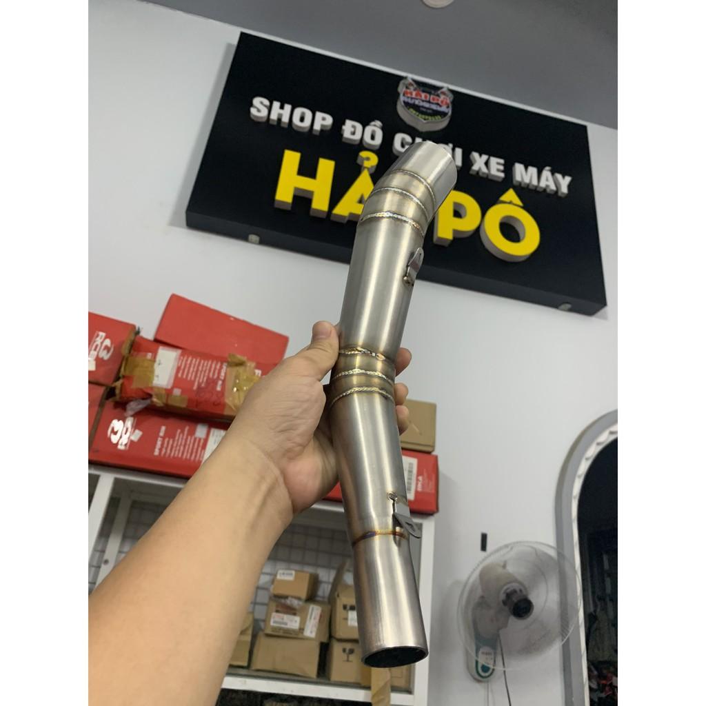 Cổ Pô Đùi Gà inox 304 From WRX và From STB From Mã Lai Gắn pô Lon [ Giảm 30k ] dành cho hầu hết các dòng xe máy