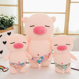 Gấu Bông Lợn Bông Mặc Sịp Siêu Đáng Yêu Size 35cm