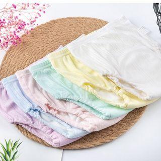 Tã vải, bỉm vải 6 lớp Bochi siêu mỏng chống tràn, size S M L (5-16kg)