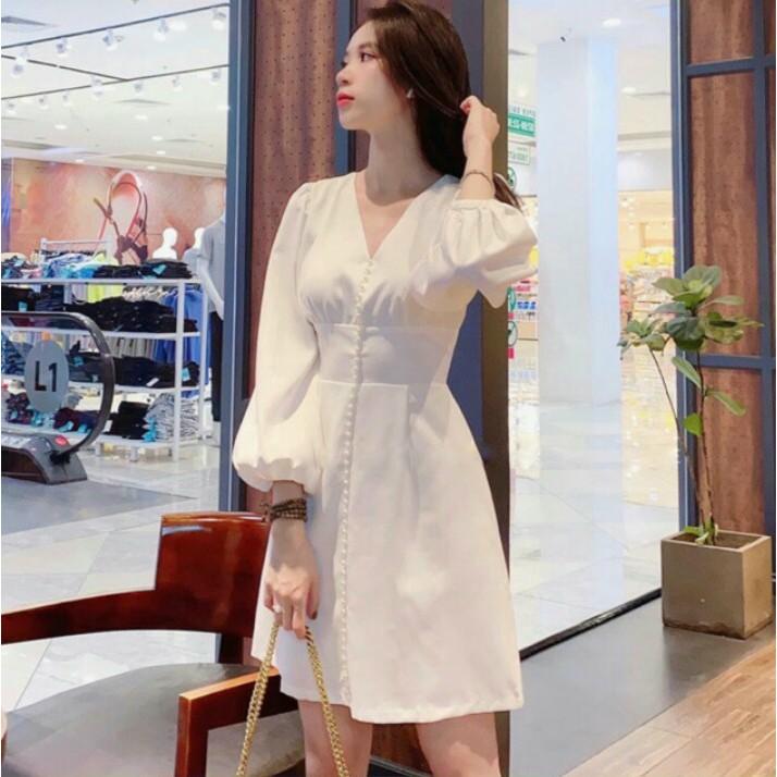 Mặc gì đẹp: Sang chảnh với Đầm dự tiệc đầm thiết kế trắng xòe