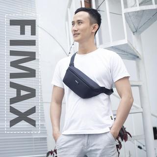Túi đeo chéo bao tử Fimax Vải Oxford nhập khẩu trượt nước – Túi đeo hông nam nữ thời trang bảo hành 12 tháng