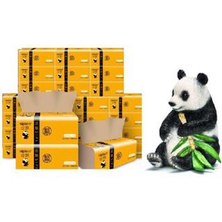 Thùng 30 gói giấy ăn gấu trúc bột giấy nguyên chất Sipao thumbnail