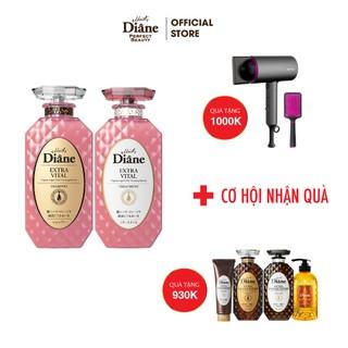 Cặp Gội Xả Tăng Cường Sức Sống Cho Tóc Yếu Moist Diane Extra Vita 450mlx2