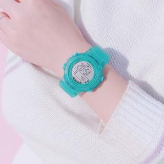 [Size nhỏ] Đồng hồ nữ thể thao Shhors hàng chính hãng dây cao su trong thumbnail