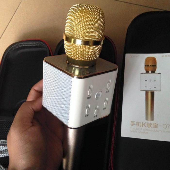 [Mic Bluetooth Q7] Micro & Loa Bluetooth - Hát Karaoke & Nghe Nhạc squishyshop664