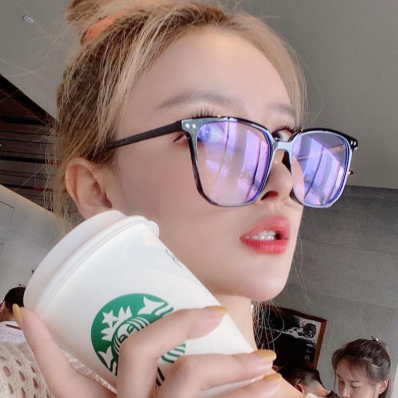 🔥 Tàu du lịch hôm nay 🔥Mắt kính gọng đen phong cách Hàn Quốc thời trang cho nữ