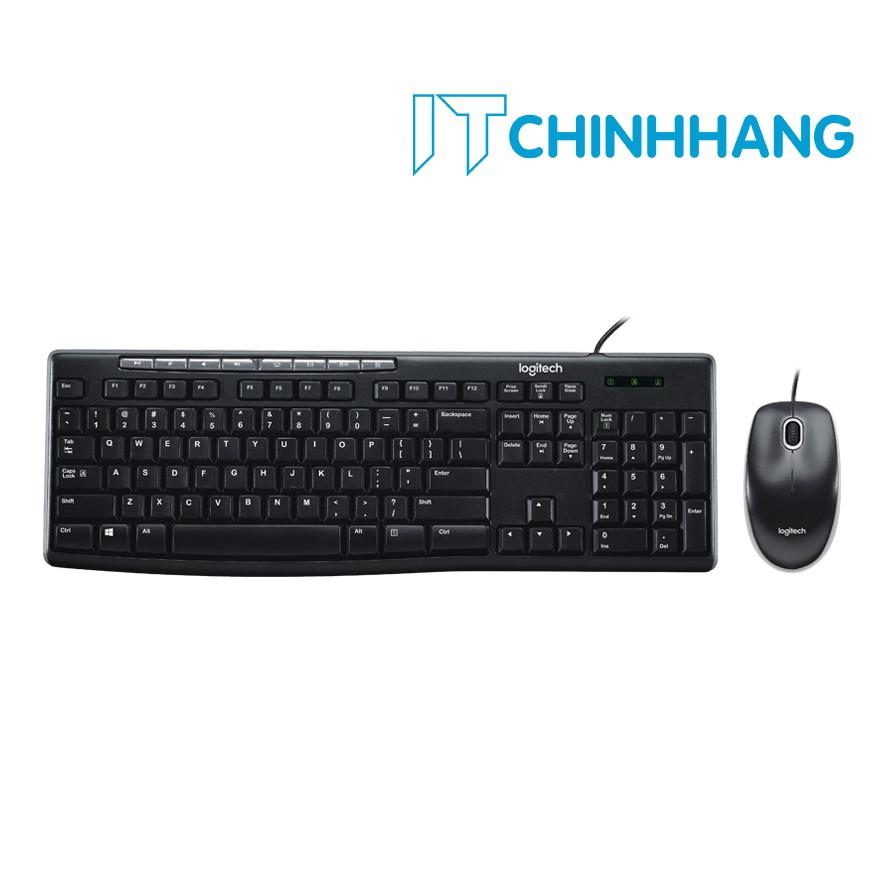 Combo Chuột & Phím Logitech MK200 - HÃNG PHÂN PHỐI CHÍNH THỨC