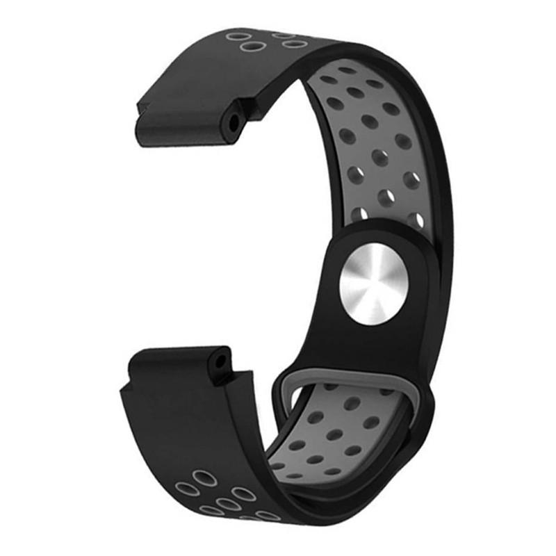 Dây đeo silicone thay thế cho đồng hồ thông minh Garmin erunner 235 220 230 620 630 735XT