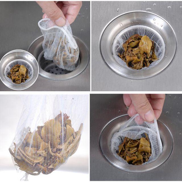 Bộ 30 Túi lọc rác bồn rửa bát tiện ích