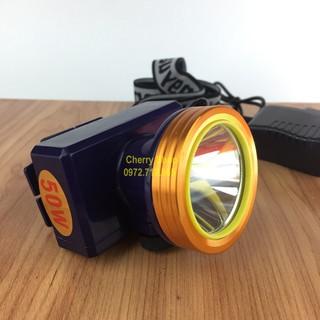 Đèn Pin Đội Đầu ánh sáng mạnh chống nước (kín nước) Ánh sáng vàng hoặc Ánh sáng trắng Mã số A9 thumbnail