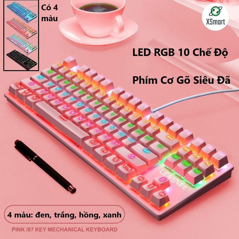 Bàn phím cơ giá rẻ Crack K2 PRO Led RGB 10 chế độ