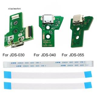 Mạch cổng sạc USB 12pin kèm dây cáp chuyên dụng dành cho bộ điều khiển Sony PS4 xp030 jds-040 jds-055