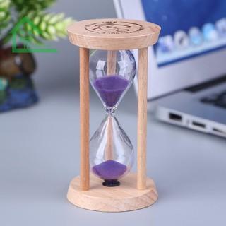 Đồng hồ cát 3 phút bằng thủy tinh cho bé