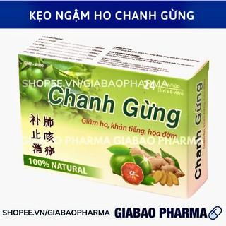 Kẹo ngâm ho Chanh Gừng giảm đau họng, khản tiếng, đau họng có đờm thumbnail