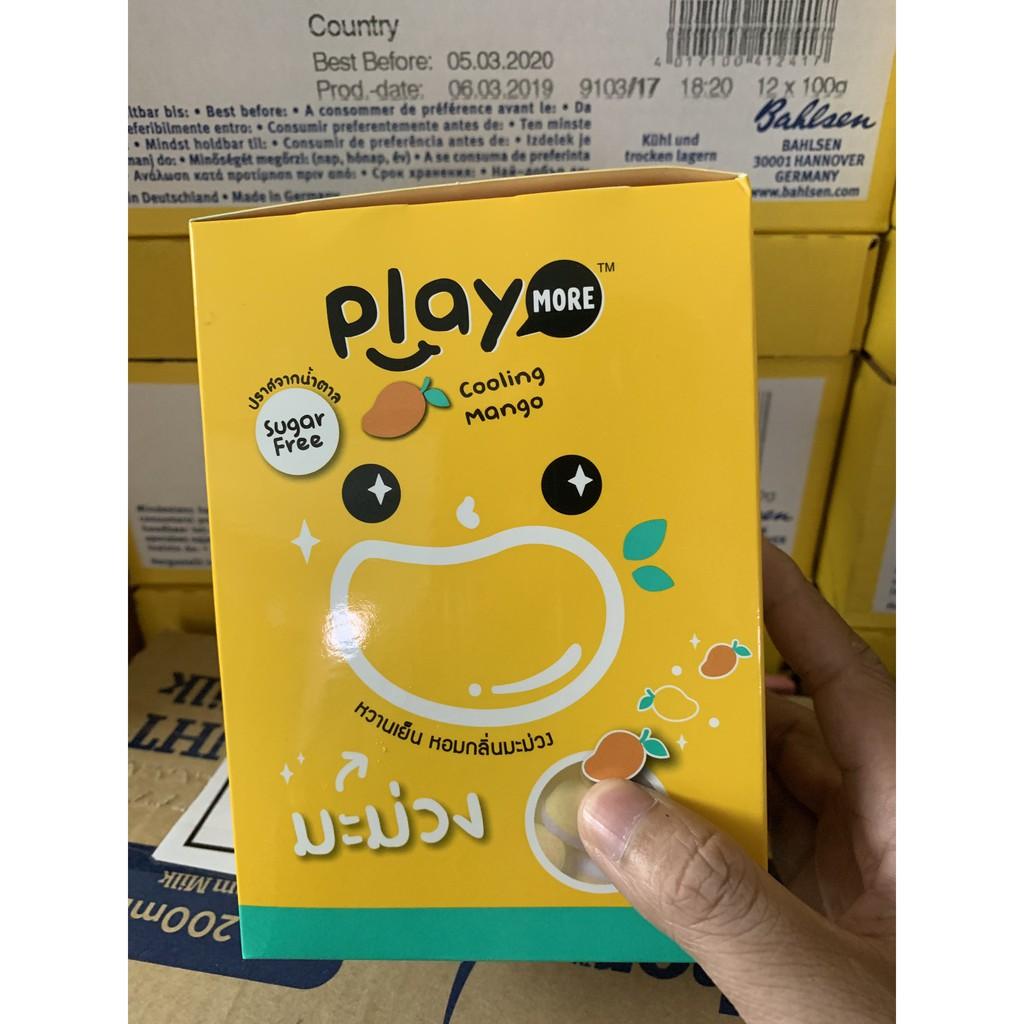 Kẹo Playmore Kẹo Ngậm Dưa Hấu Thái Dạng Gói 12g+ Hàng mới về