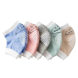 Đệm bảo vệ đầu gối cho bé tập bò cotton mềm mại xinh xắn