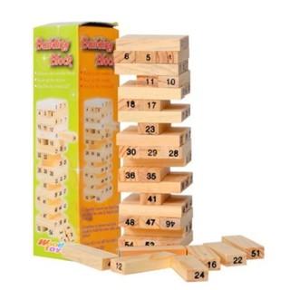 Siêu rẻ Đồ chơi rút gỗ 54 thanh Verygood (Nâu gỗ)