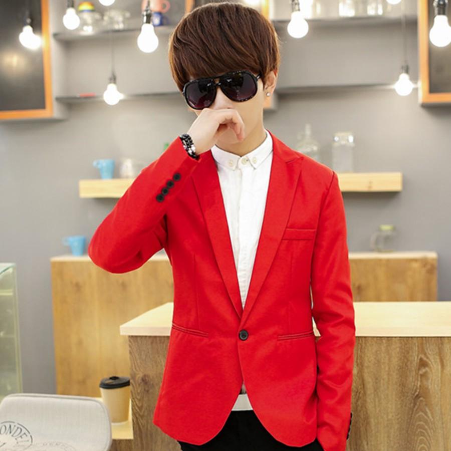 [Giá Sỉ] Áo vest nam thời trang Hàn Quốc tông Đỏ