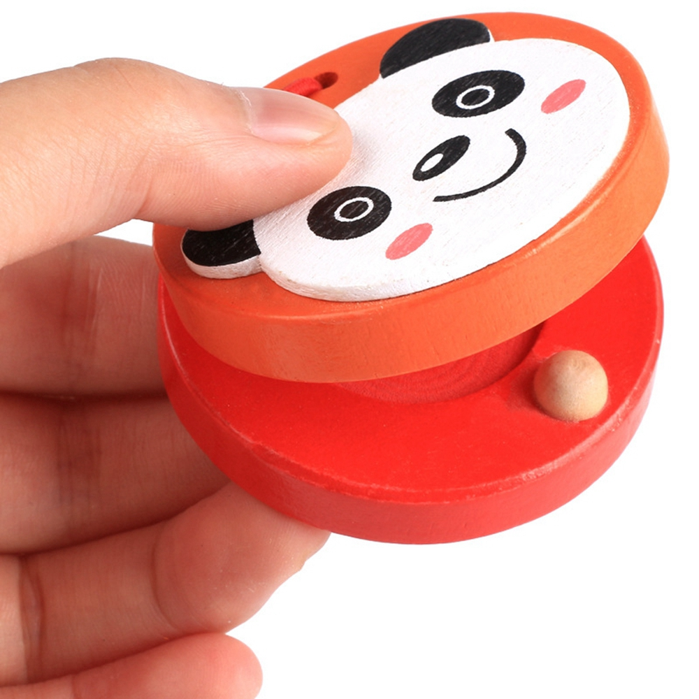 Lovely Funny Christmas Gift Kids Baby Educational Preschool Music Toys Cartoon Castanets