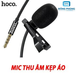 Micro Mini Hoco Di02 Kẹp Áo Chính Hãng Có Màng Lọc Tạp Âm