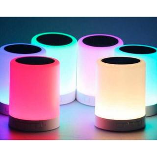 Loa bluetooth Y02 đèn led đổi màu, kiêm đèn ngủ cực đẹp