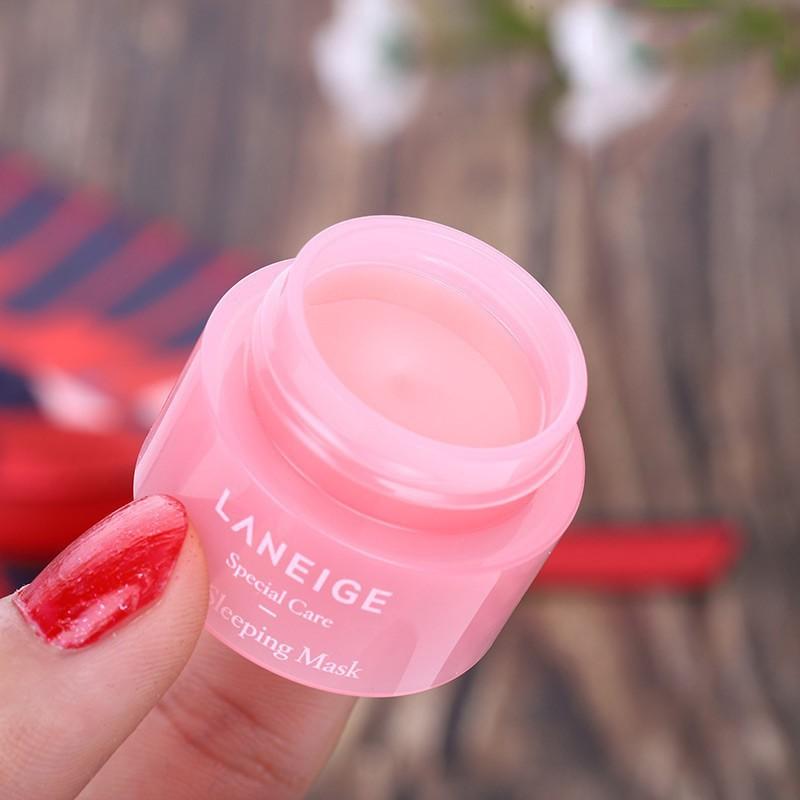 [Hàng mới về] Mặt nạ dưỡng môi Hàn Quốc chất lượng cao laneige lip balm