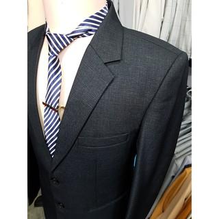 Yêu ThíchBộ vest nam trung niên tông xám chất vải cao cấp dày mịn (áo vest+quần+cà vạt+kẹp cà vạt)