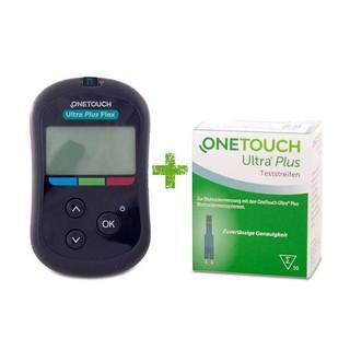 Máy thử đường huyết onetouch ultra plus flex +25 que +10 kim