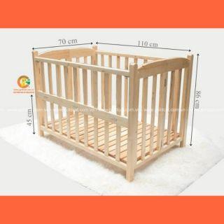 [Ship ngoài]Cũi gỗ quế mộc cao cấp chính hãng Goldcat đủ size cho bé.Liên hệ shop freeship