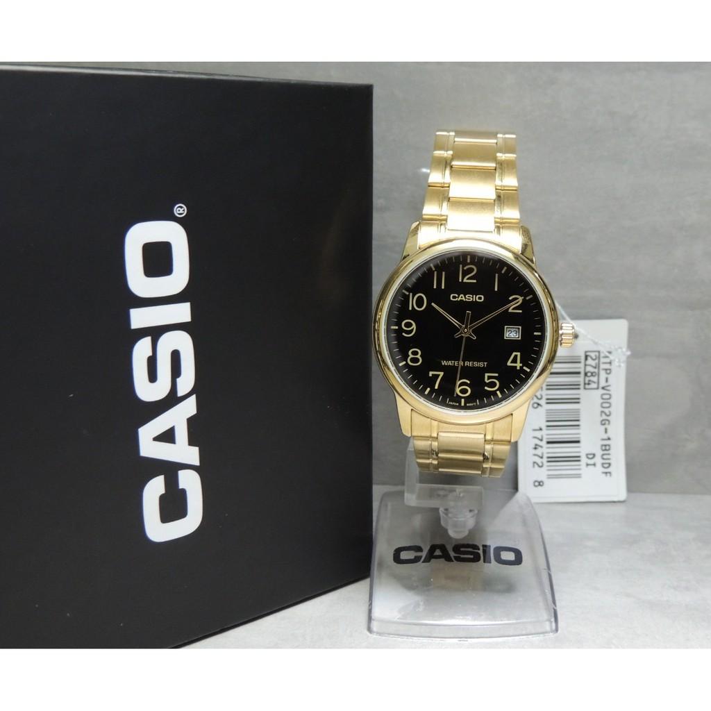 Đồng hồ nam dây kim loại Casio Anh Khuê MTP-V002G-1BUDF