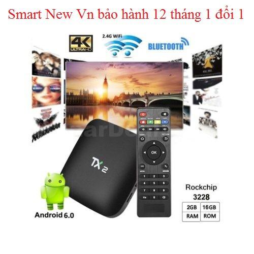 Android tivibox TX2 kết nối Bluetooth