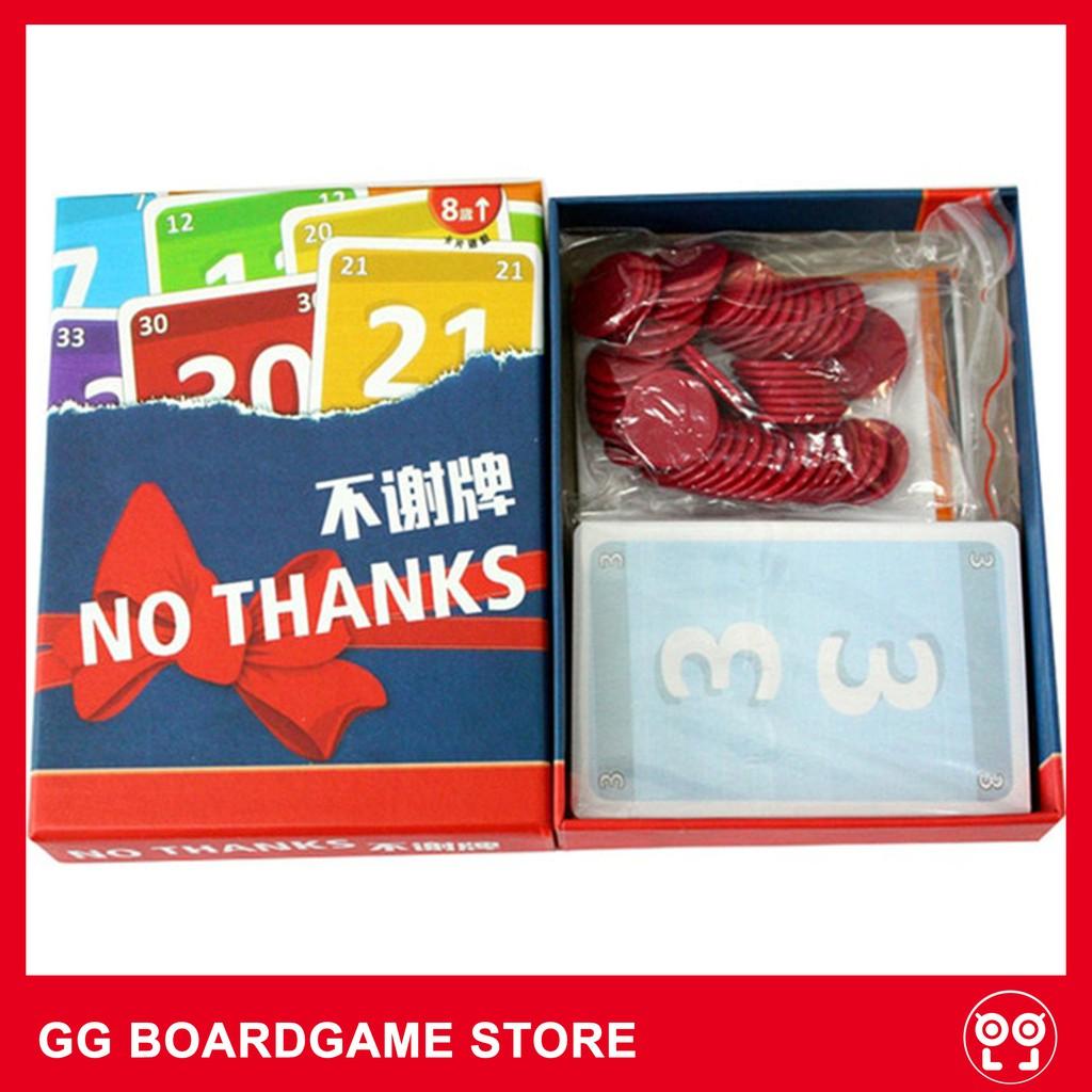No Thanks! Board Game - Không, Cảm Ơn!