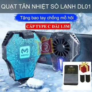 Quạt tản nhiệt MEMO DL01 cho điện thoại - Quạt tản nhiệt sò lạnh bán dẫn làm mát tức thì tăng hiệu năng - Cooling Gaming thumbnail