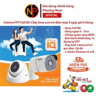 Camera ngoài trời, camera trong nhà FPT FREE 7 THÁNG THUÊ BAO - Full HD - Cảm biến hình ảnh 1 2.8 Sony IMX307- 1080p thumbnail