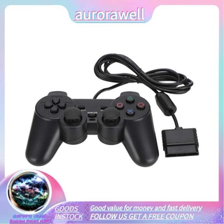 Aurorawell Wired Game Controller Joypad Gamepad for PlayStation PS22 Console Handle