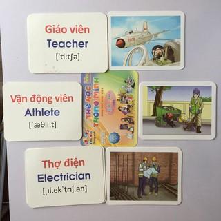 Bộ flashcars 12 chủ đề chuẩn Glenn Doman giáo dục thông minh cho bé (Phù hợp với bé từ 0-6 tuổi)