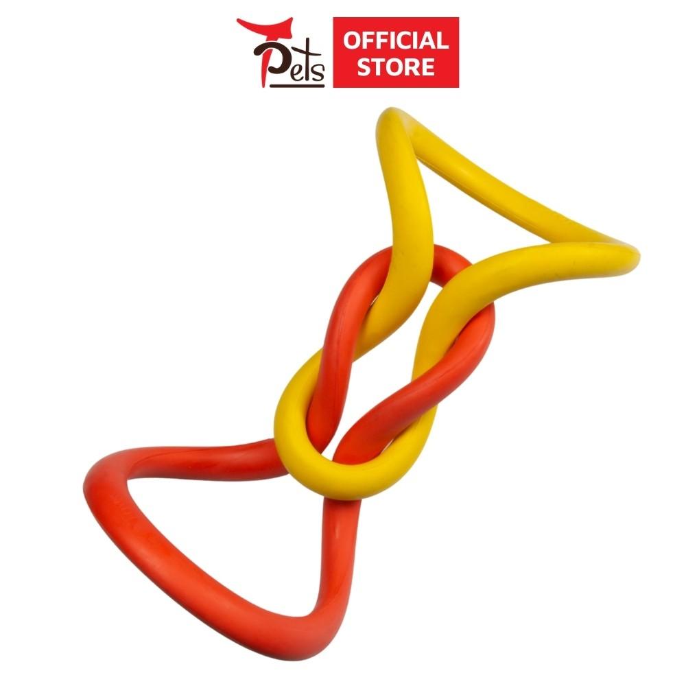 Đồ chơi hình dây cao su thương hiệu TPets - Đồ chơi luyện cơ hàm cho chó