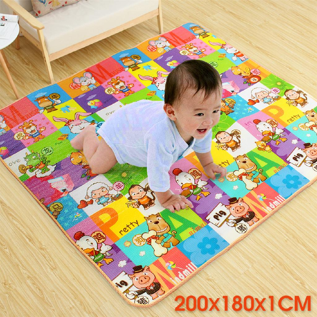 Kids Play Mat Floor Rug Picnic Cushion Crawling Gym Mat