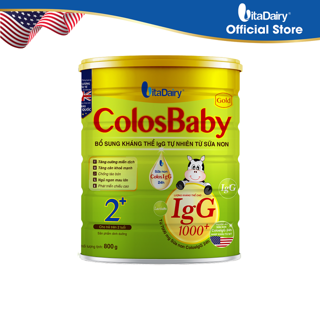 Sữa bột COLOSBABY GOLD 2+ 800G - S thumbnail