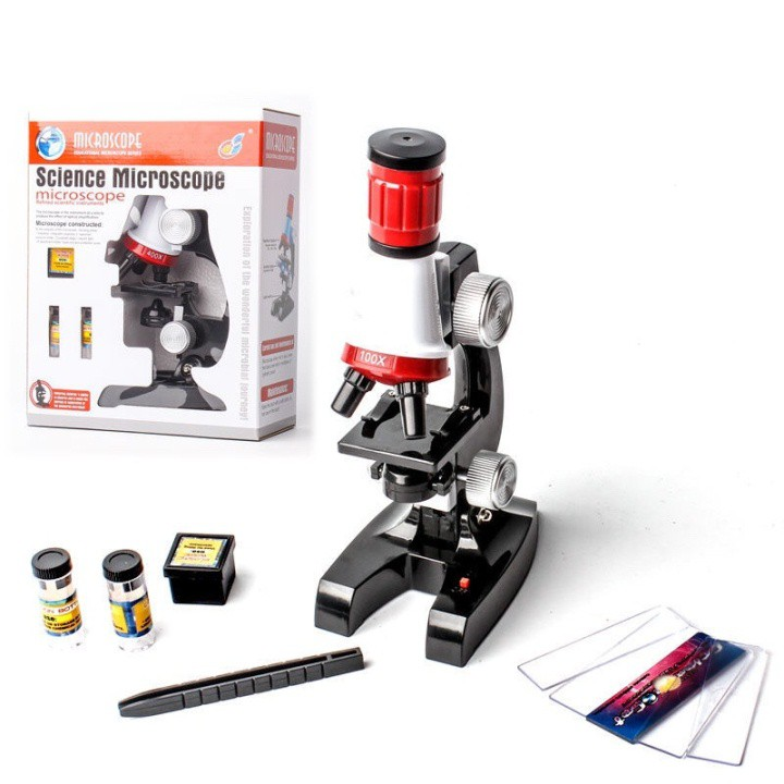 kính hiển vi học sinh đồ dùng nghiên cứu khoa học