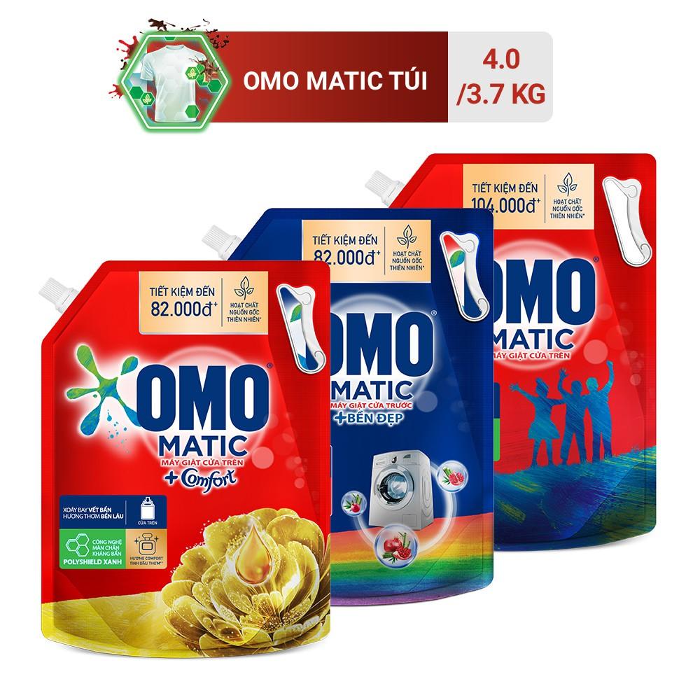 Túi nước giặt OMO Matic 3,7kg/4kg