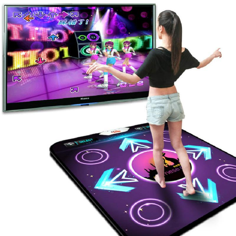 USB Non-Slip Dancing Step Mats Pads DDR for TV AC PC Video Game Household
